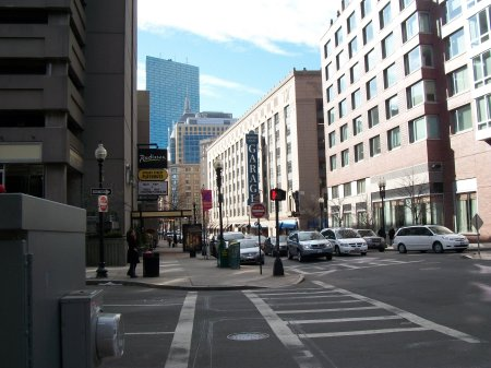 Boston Theatre District Parking