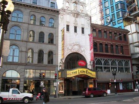Opera House Boston Theater District Washington Street Shear Madness