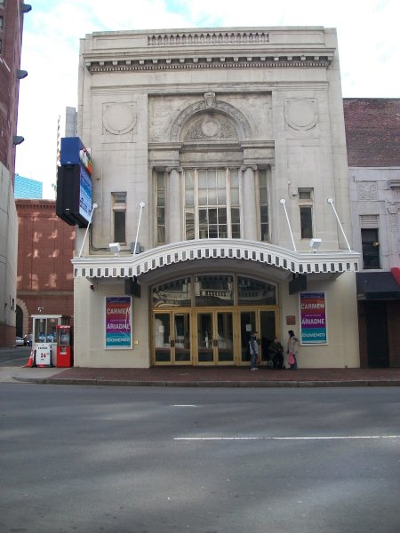 View of Tremont St. in Boston, showing Haymarket Theatre, ca.1796